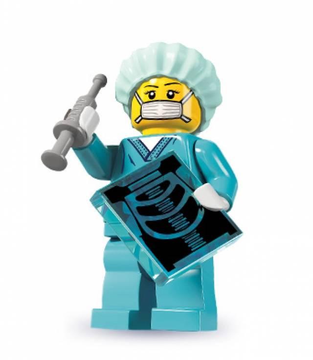 Lego Minifigures - Series 6 - Surgeon