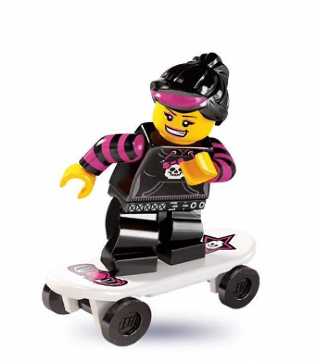 Lego Minifigures - Series 6 - Skater Girl
