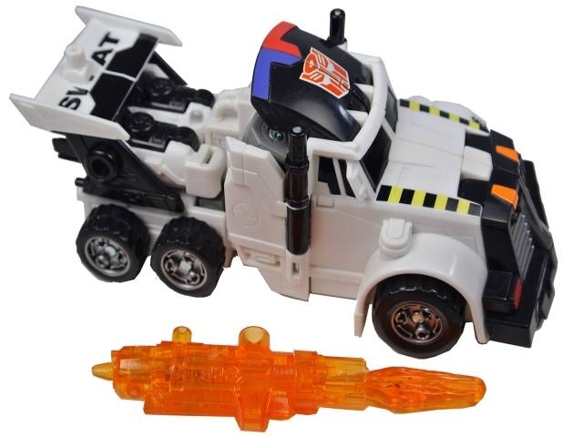 Energon - S.W.A.T. Team Checkpoint - Loose - 100% Complete
