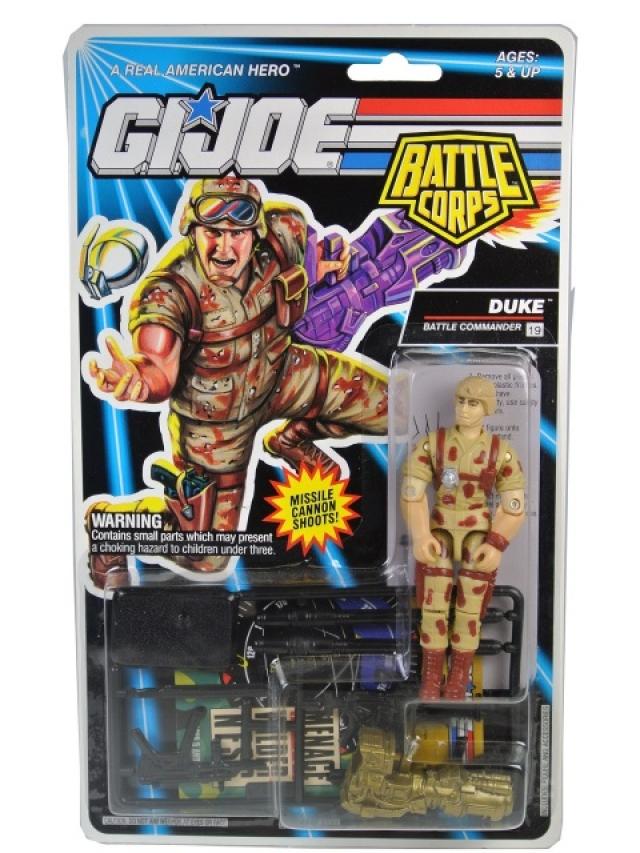 GI Joe - 1993 - Battle Corps - Duke V4 - MOSC