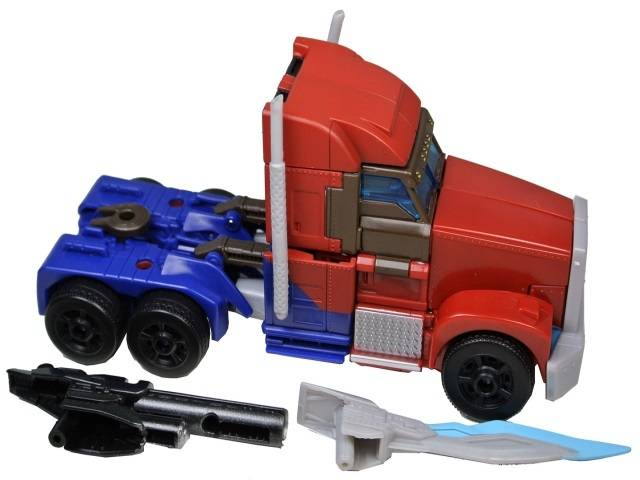 Transformers Prime - First Edition Voyager Optimus Prime - Loose - 100% Complete