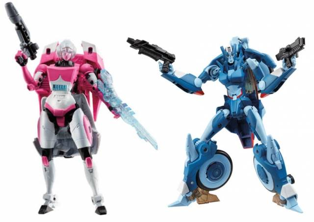 Transformers 2014 - Generations Series 04 - Deluxe - Set of 2 Figures - Arcee & Chromia
