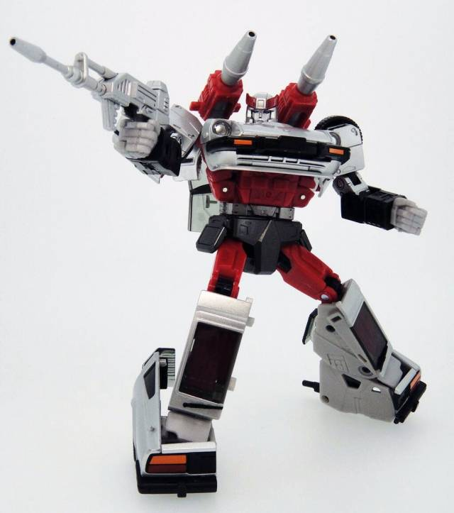 MP-18S - Masterpiece Bluestreak - Silverstreak Exclusive Version