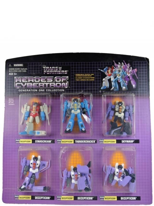 Botcon 2003 - Heroes of Cybertron HOC Seeker Jets - MOC