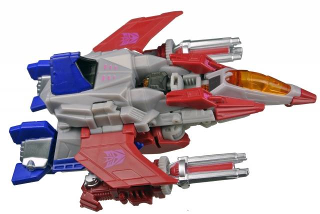 Transformers 2013 - Fall of Cybertron Starscream - Loose - 100% Complete