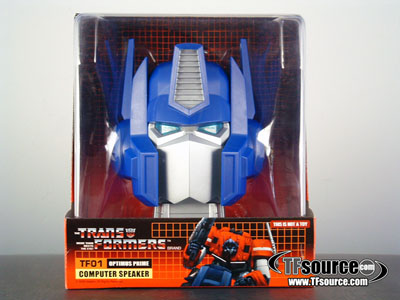 G1 Optimus Prime Head with Speaker