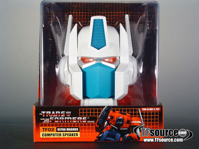 G1 Ultra Magnus Head with Speaker