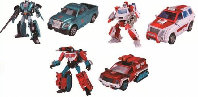 Henkei Classics - Autobot Warriors - Ratchet Kup Perceptor 3-Pack