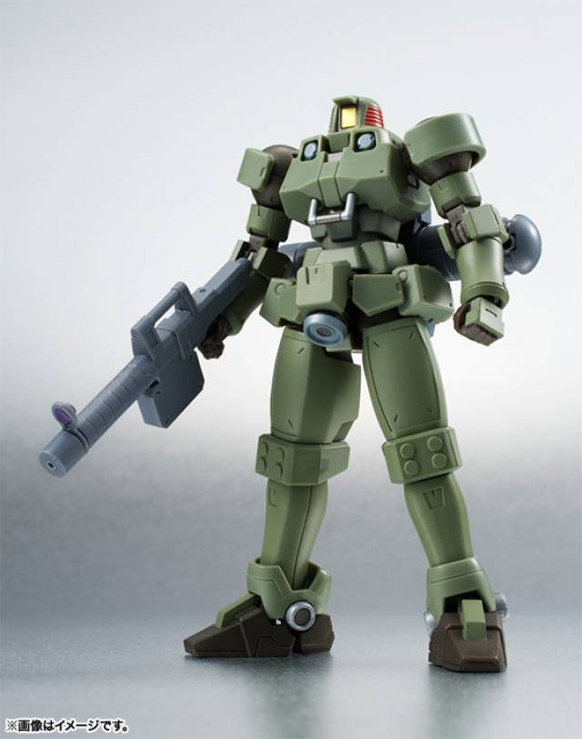 Robot Spirits Damashii - Leo (Moss Green) Space Type