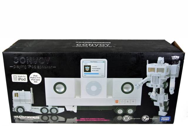 Music Label Ipod White Convoy - MIB