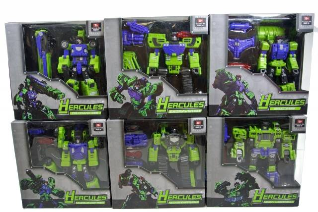 TFC Toys - Hercules - Full Set of 6 - MIB