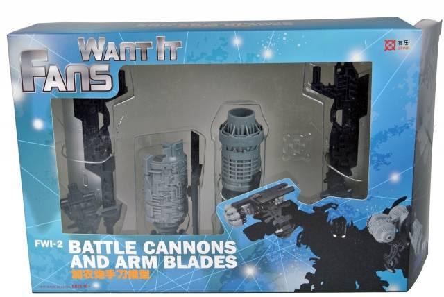 FWI-2 - Battle Cannons and Arm Blades - Custom Add-on Kit - MIB