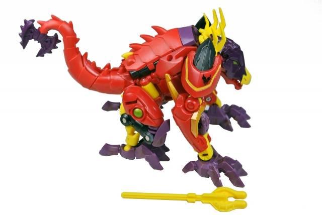 Beast Hunters - Transformers Prime - Lazerback Dragon - Loose 100% Complete