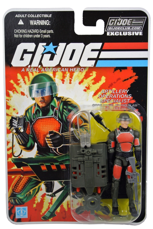 GI Joe 2013 - Subscription Figure - Grand Slam