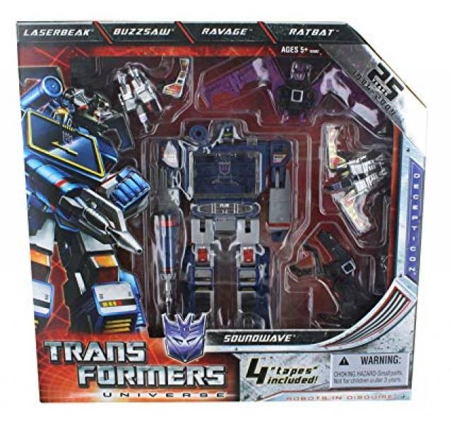 SDCC 2009 Exclusive Soundwave 25th Anniversary Special Edition
