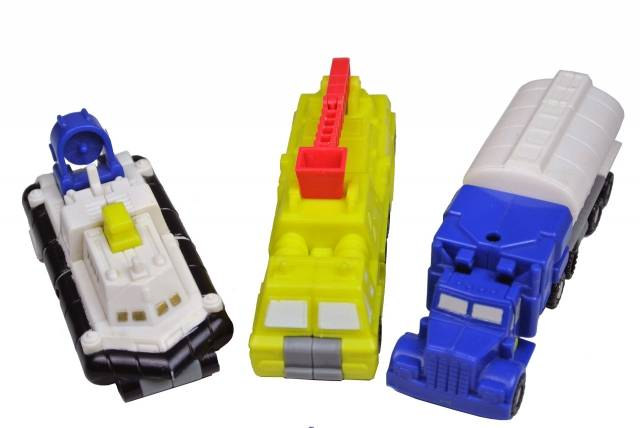 Transformers G1 - Micromaster Metro Squad - Loose 100% Complete