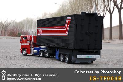 IG-TF004B - Masterpiece Big Trailer - Black Colors