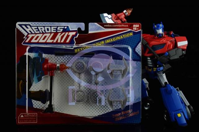 DX9 Toys - Heroes Toolkit - Animated Weapons Kit