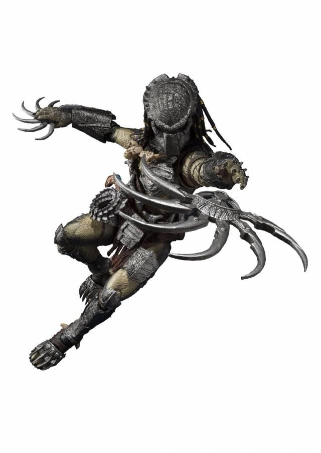 S.H.MonsterArts - Predator Wolf - Heavy Armed Version