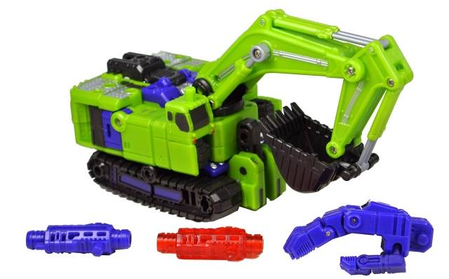 TFC Toys - Hercules - Exgraver - Loose 100% Complete