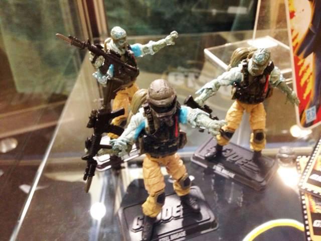 GI Joe - JoeCon 2014 Steel Brigade Zombie 3-Pack