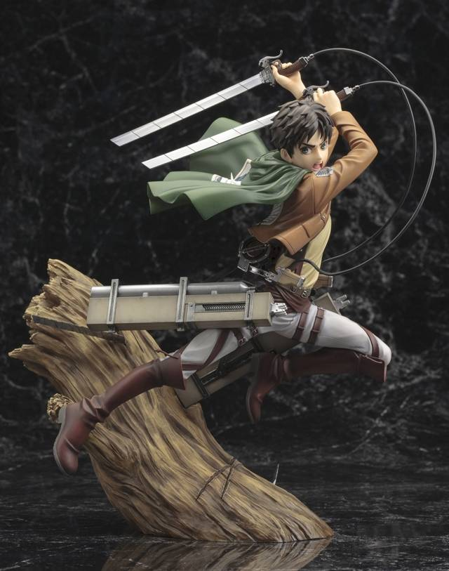 Kotobukiya - Attack on Titan - Eren Yaeger ARTFXJ 1/8 Scale Statue