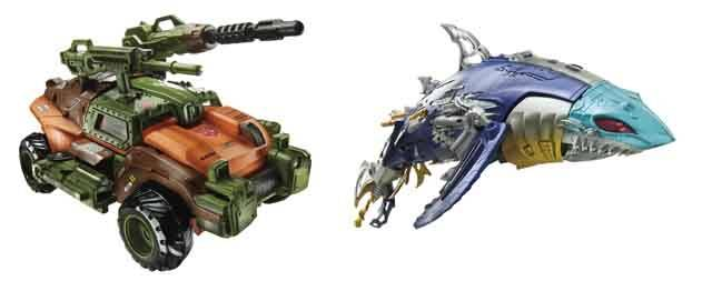 Transformers 2014 - Generations Voyager Class - Wave 03 - Roadbuster & Sky-Byte Set