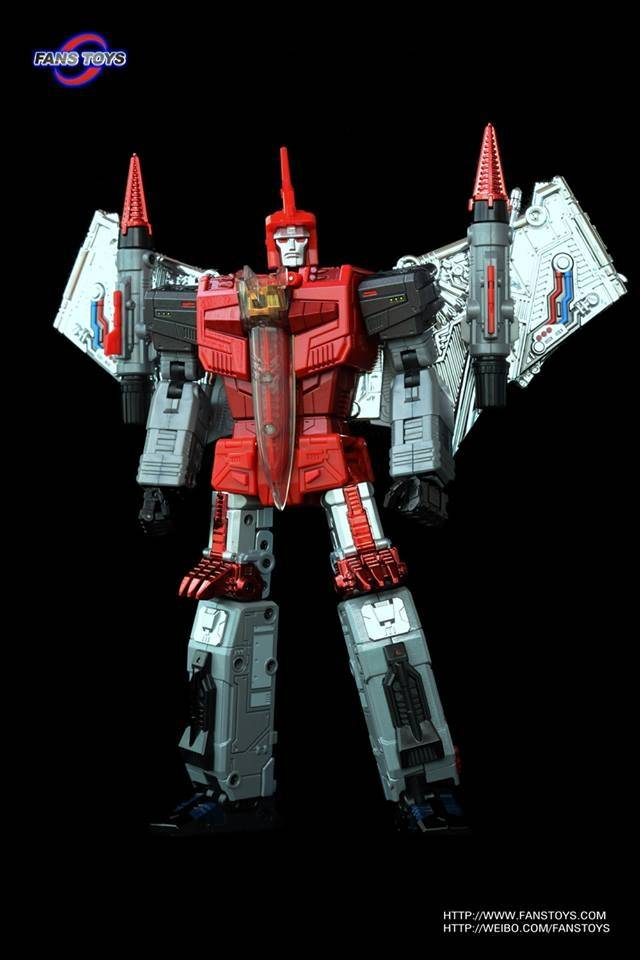 FansToys FT-05T Soar - Red Version - MIB