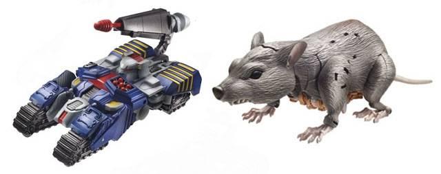 Transformers 2014 - Generations Series 03 - Deluxe - Set of 2 Figures - Tankor & Rattrap