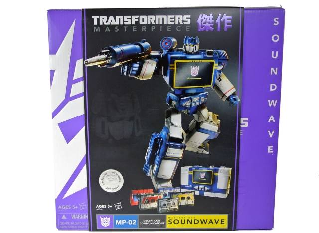 Masterpiece Soundwave with Cassettes - MIB