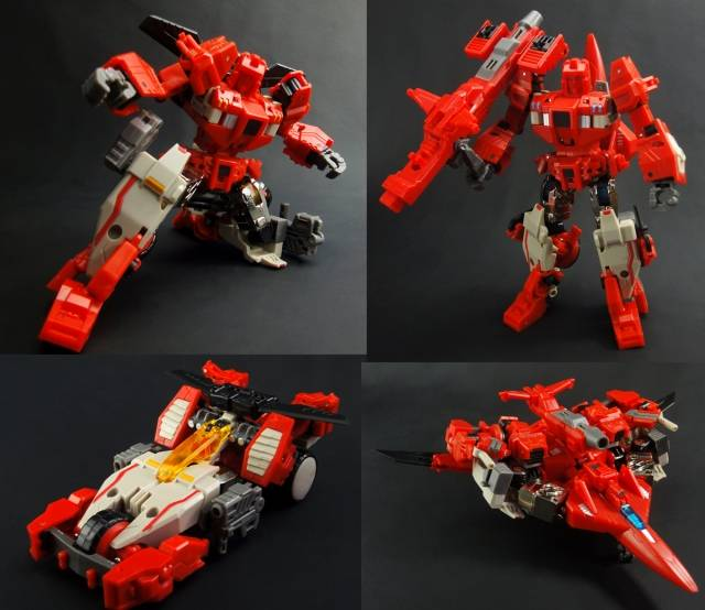X2 Toys - XT005 Gemini Set of Furrow & Rotor