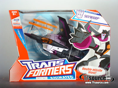 Transformers Animated - Voyager Class - Skywarp