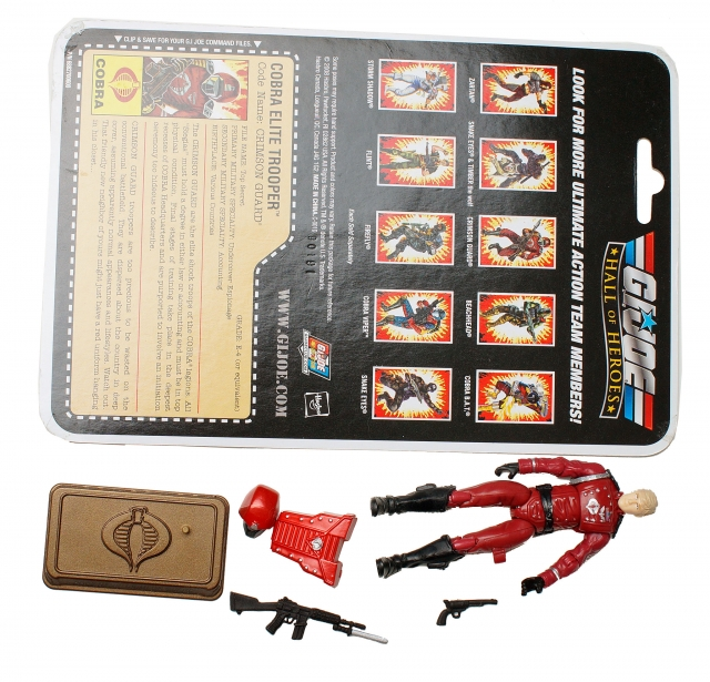 GIJoe - 25th Anniversary - Crimson Guard - Hall of Hero's - Loose 100% Complete