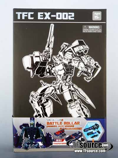 TFC MP EX-002R Battle Rollar