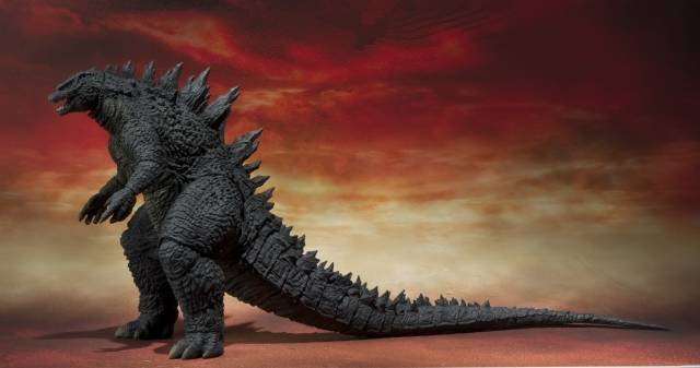 S.H.MonsterArts - 2014 Movie Godzilla