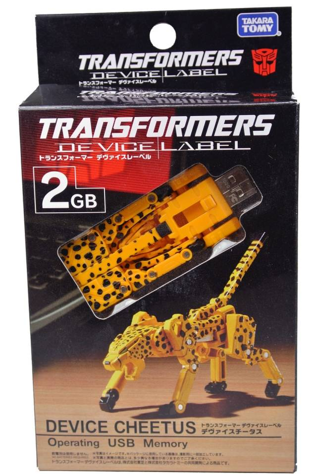 Device Label Transforming USB Flash Memory (2 GB) - Cheetor / Cheeta - MIB