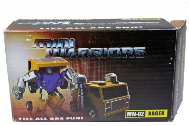 iGear - MW-02 Mini Warrior - Rager - MIB