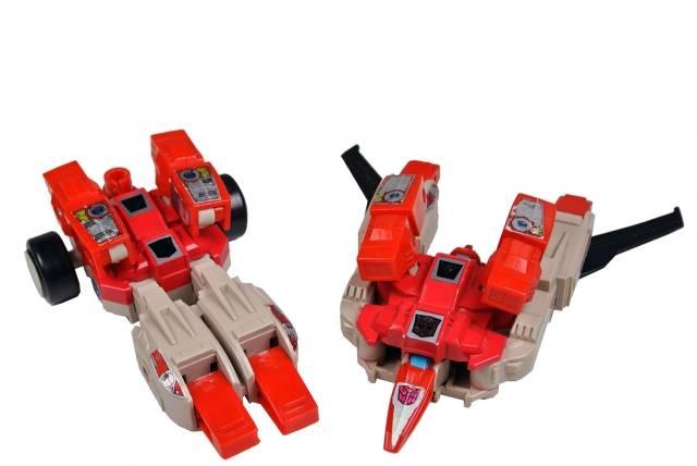 Transformers G1 - Fastlane & Cloudraker - Loose