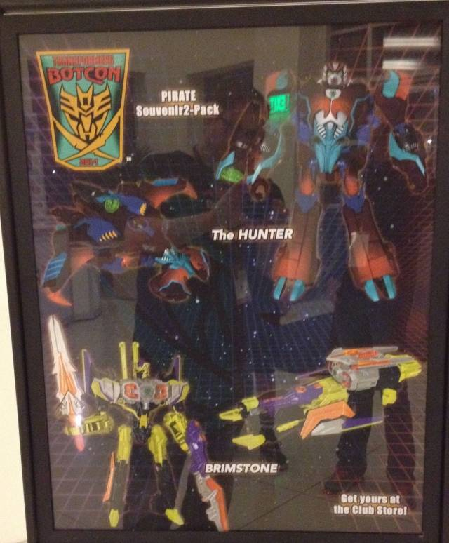 Botcon 2014 - Pirates vs. Knights - the Hunter Shokaract & Brimstone - Souvenir Set