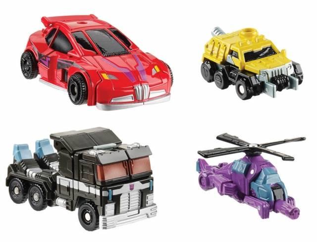 Transformers 2014 - Generations Legends Series 04 - Set of 2 Figures - Cliffjumper & Nemesis Prime