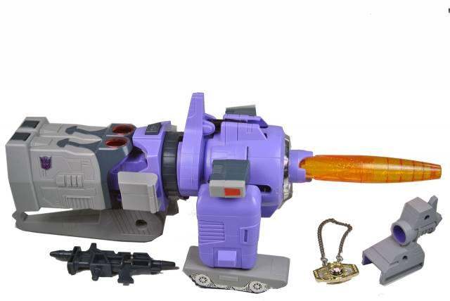 Reissue - D-62S Purple Galvatron - Loose - 100% Complete