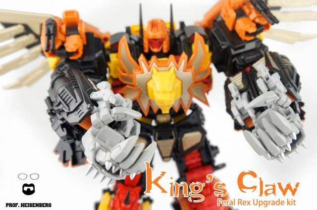 Professor Heisenberg - King's Claw add-on kit for Feral Rex
