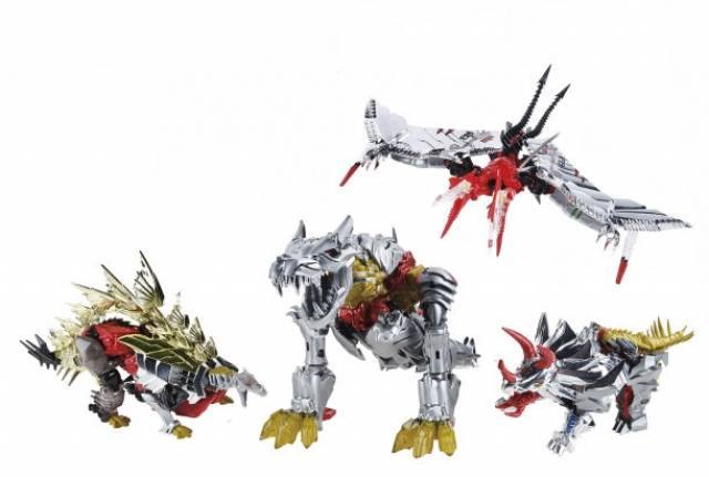 SDCC 2014 Exclusive - 30th Anniversary - Dinobots Set