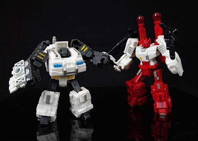Iron Factory - IF-EX02  Slammer & Scamp Set