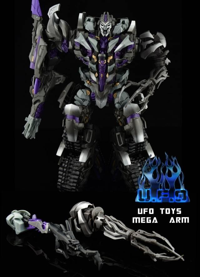 U.F.O - Leader Dark Energon Megatron Upgrade - Mega Arm