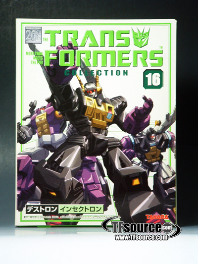 Reissue - Transformers Collection - TFC #16 Insecticons - MIB - 100% Complete