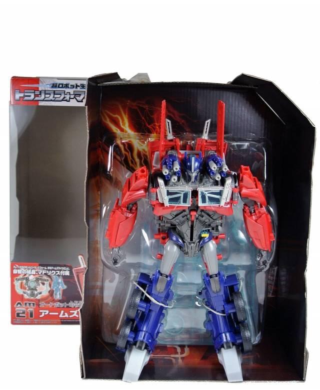 Japanese Transformers Prime - AM-21 - Arms Master Optimus Prime - MIB