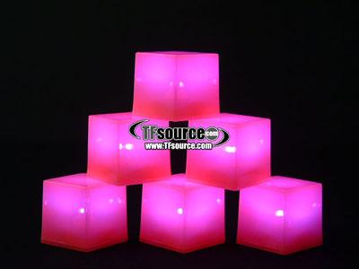 Light Up Energon Cubes!