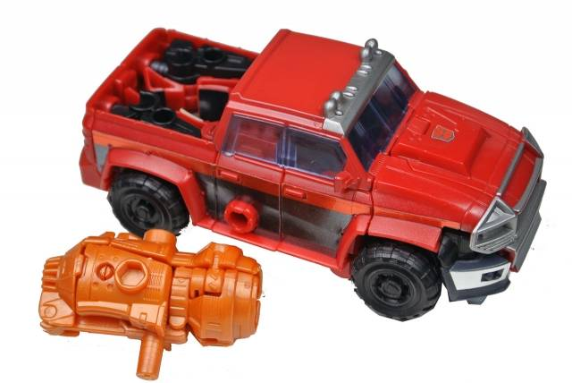 Japanese Transformers Prime - AM-20 - Ironhide - Loose 100% Complete