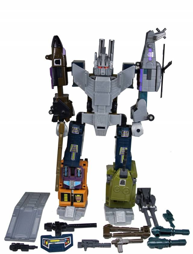 Transformers G1 - Bruticus - Loose - 100% Complete
